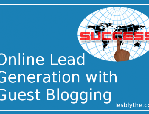 Online lead generation – critical information about guest blogging!
